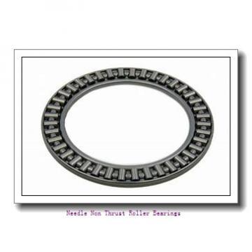 0.188 Inch | 4.775 Millimeter x 0.344 Inch | 8.738 Millimeter x 0.375 Inch | 9.525 Millimeter  KOYO B-36;PDL125  Needle Non Thrust Roller Bearings