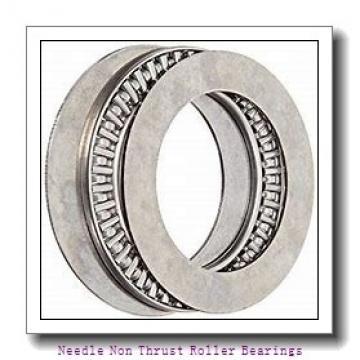 0.156 Inch | 3.962 Millimeter x 0.281 Inch | 7.137 Millimeter x 0.25 Inch | 6.35 Millimeter  KOYO B-2 1/2 4 PDL051  Needle Non Thrust Roller Bearings