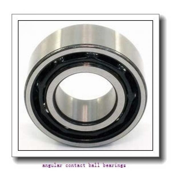 1.181 Inch   30 Millimeter x 2.835 Inch   72 Millimeter x 0.748 Inch   19 Millimeter  NSK 7306BMPC  Angular Contact Ball Bearings #1 image