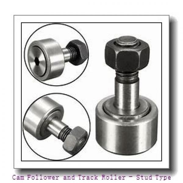 CONSOLIDATED BEARING KR-19-2RS  Cam Follower and Track Roller - Stud Type #1 image